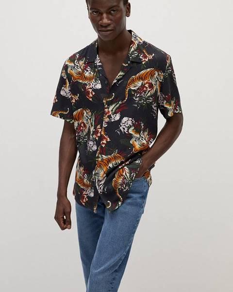 Černá košile Mango Man