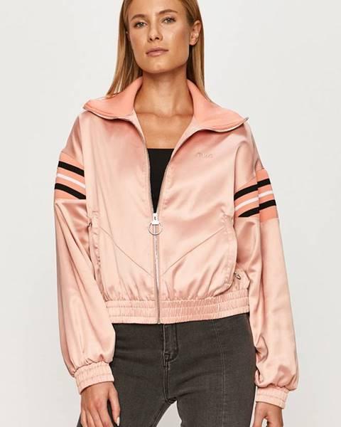 Růžová bunda fila