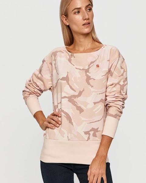 Růžový svetr G-Star RAW