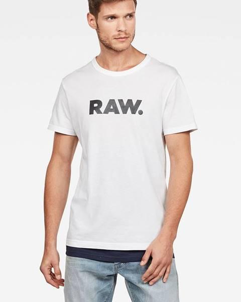 Bílé tričko G-Star RAW
