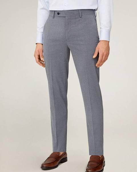 Šedé kalhoty Mango Man