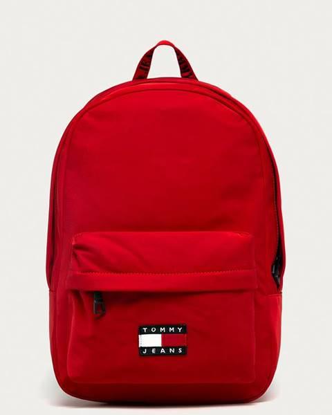 Červený batoh Tommy Jeans