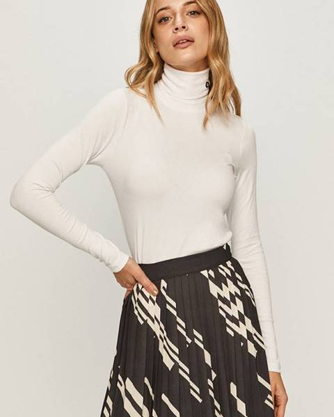 Bílý svetr calvin klein jeans