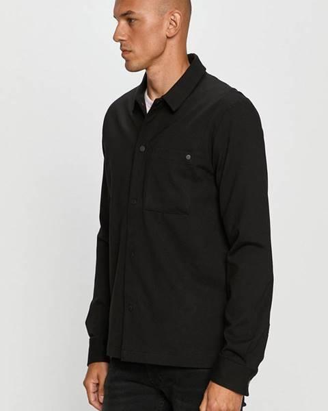 Černá košile Clean Cut Copenhagen