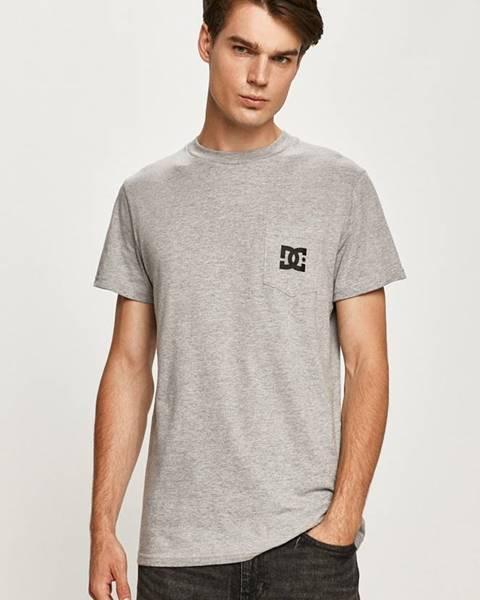 Šedé tričko DC