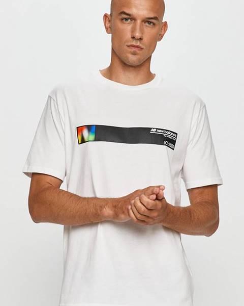 Bílé tričko new balance