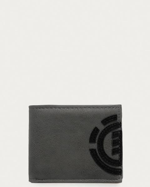 Šedá peněženka Element