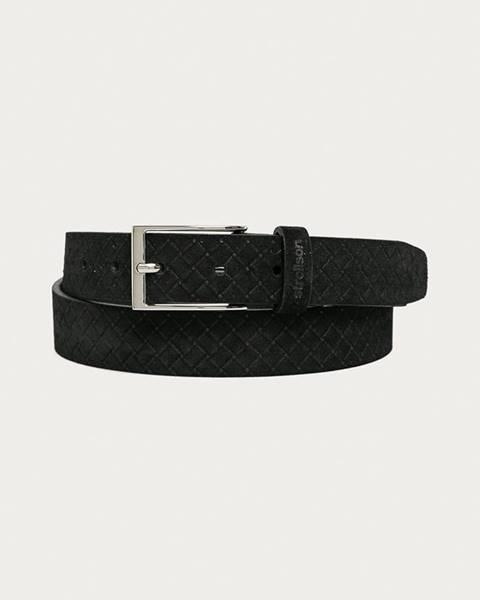 Černý pásek Strellson