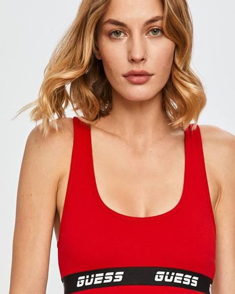 Červené spodní prádlo Guess