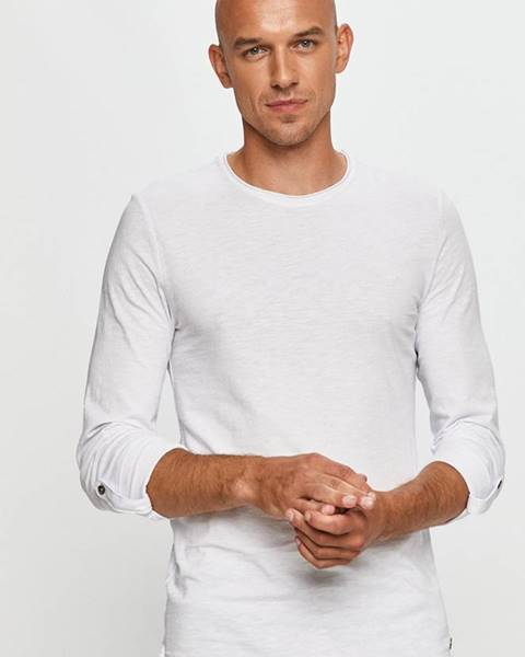 Bílé tričko Mustang