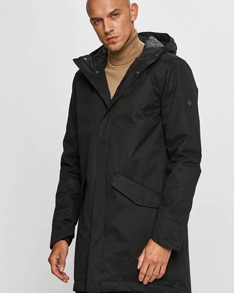 Černá bunda Fat Moose