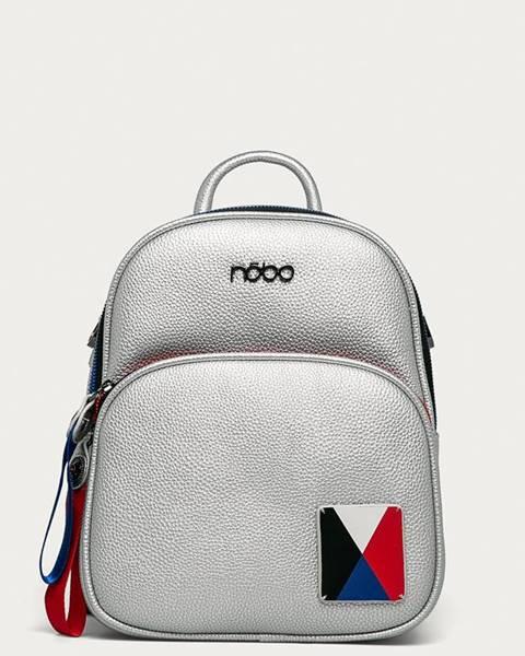 Stříbrný batoh NOBO