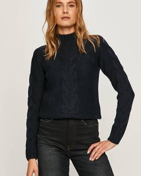 Modrý svetr pepe jeans