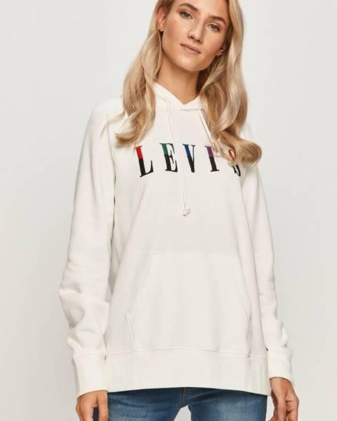 Bílá mikina Levi's