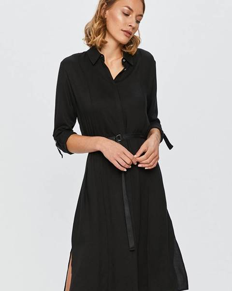 Černé šaty Calvin Klein