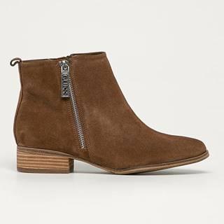 Guess Jeans - Semišové boty
