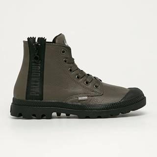 Palladium - Kožené kotníkové boty