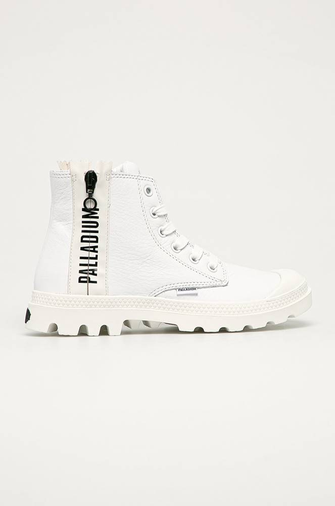 Palladium Palladium - Kožené kotníkové boty