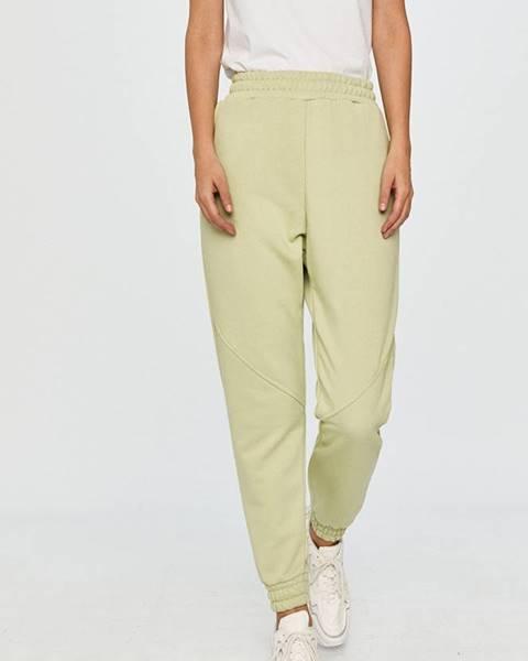 Zelené kalhoty Answear Lab