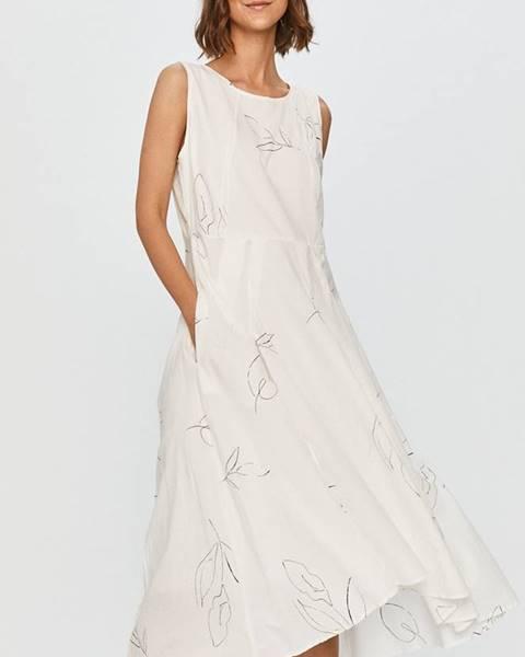 Bílé šaty Answear Lab