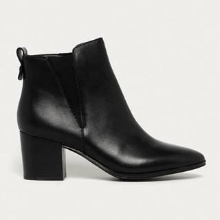 Aldo - Kožené kotníkové boty Ryeland