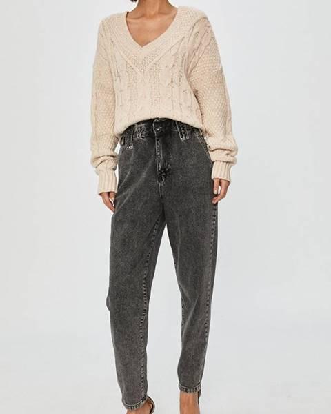 Šedé kalhoty Answear Lab