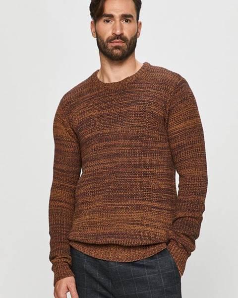 Hnědý svetr Tailored & Originals