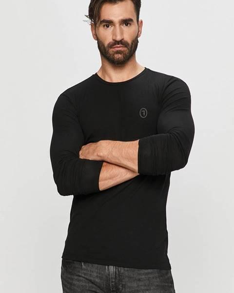 Černé tričko Trussardi Jeans