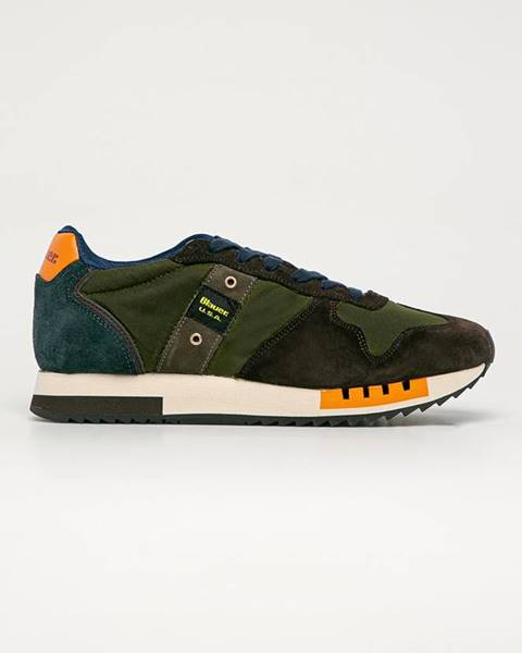 Zelené boty Blauer