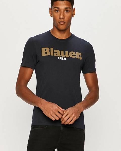 Modré tričko Blauer