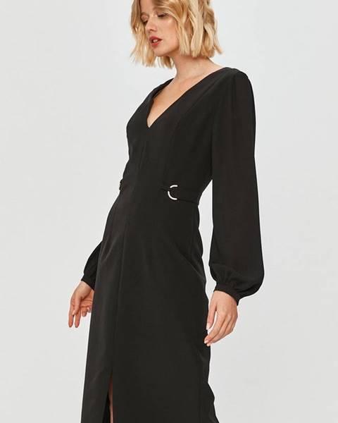 Černé šaty Trussardi Jeans