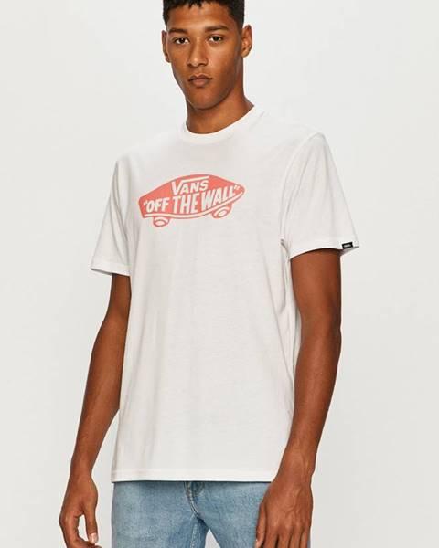 Bílé tričko vans
