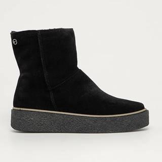 Tamaris - Semišové boty