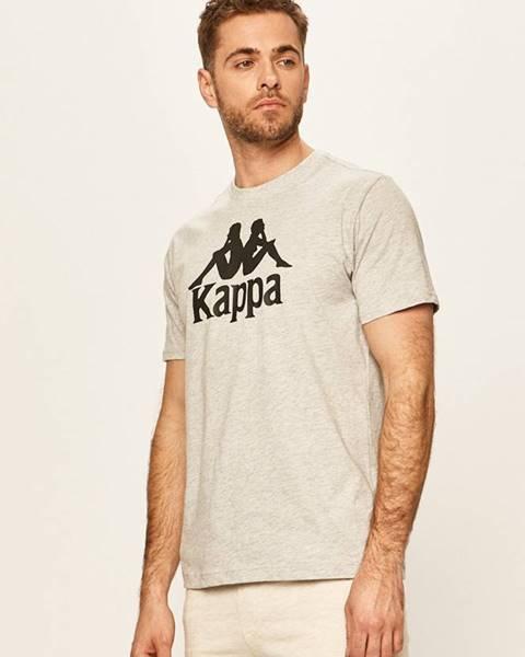 Šedé tričko Kappa