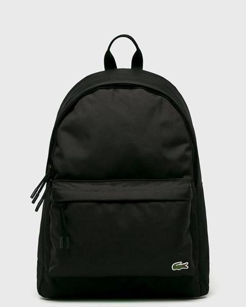 Černý batoh lacoste