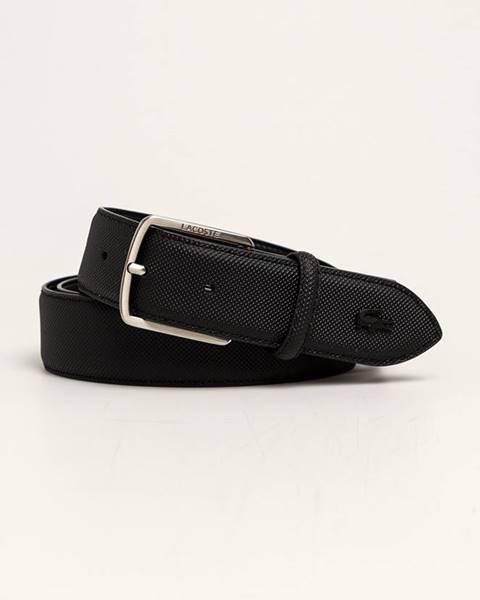 Černý pásek lacoste
