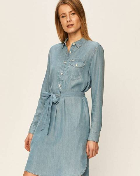 Modré šaty lee