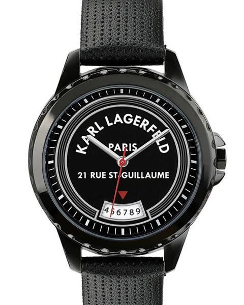 Černé hodinky karl lagerfeld