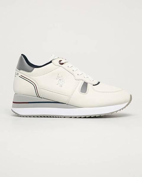 Bílé boty u.s. polo assn.