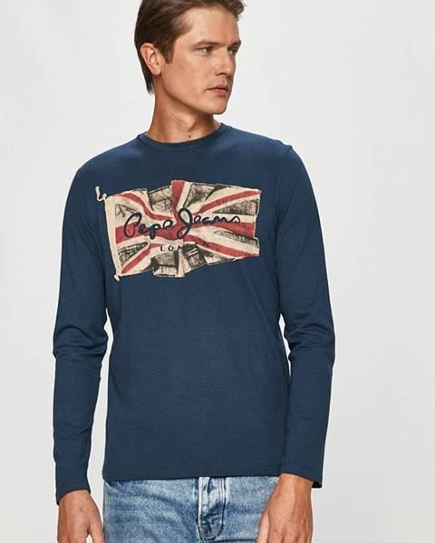 Modré tričko pepe jeans