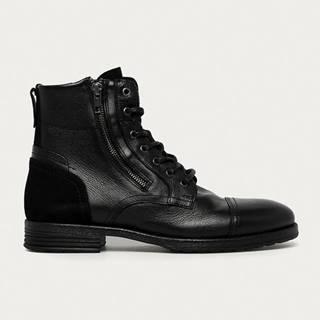Aldo - Kožené boty Bravin