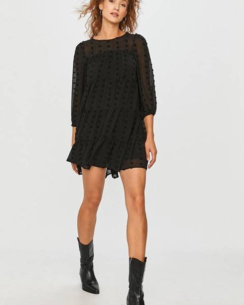 Černé šaty Answear Lab