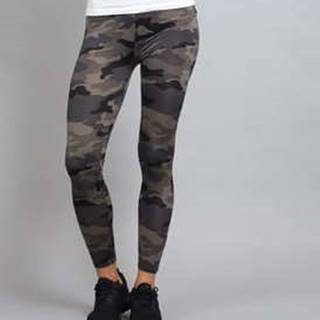Ladies Camo Leggings camo šedé XL