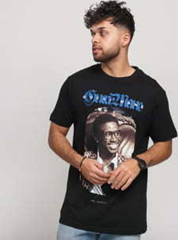 Urban Classics Urban Classics Gucci Mane Loepard Tee černé XXL