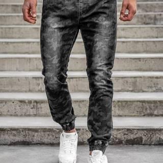 Černé pánské jogger kalhoty