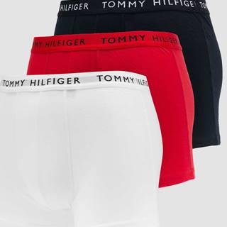 Tommy Hilfiger 3 Pack Trunk C/O bílé / navy / červené