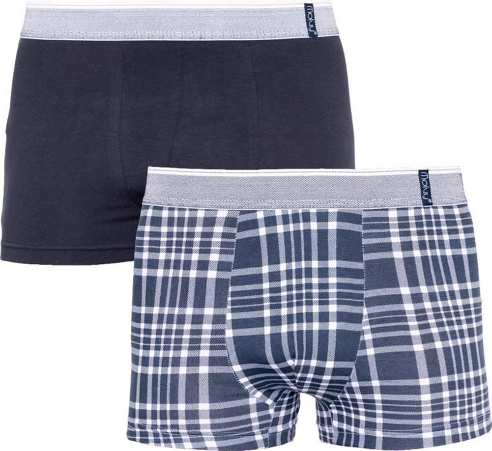 Molvy 2PACK Pánské boxerky  vícebarevné