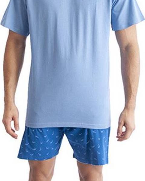Modré noční prádlo Gino