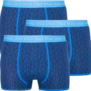 3PACK pánské boxerky  modré