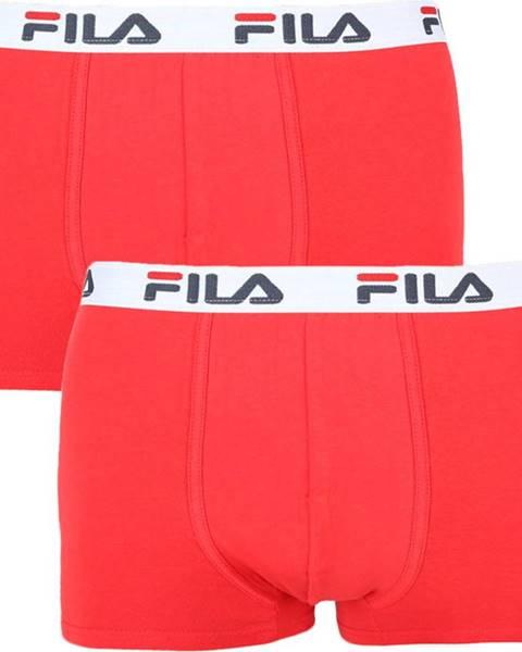Červené spodní prádlo fila